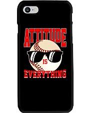 Baseball - Attitude Phone Case thumbnail