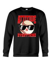 Baseball - Attitude Crewneck Sweatshirt thumbnail