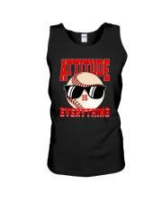 Baseball - Attitude Unisex Tank front