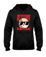 Baseball - Attitude Hooded Sweatshirt thumbnail