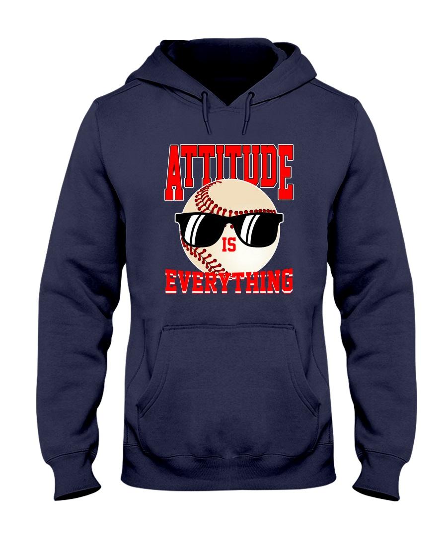 Baseball - Attitude Hooded Sweatshirt