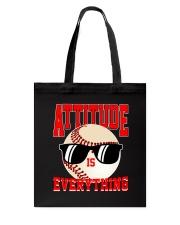 Baseball - Attitude Tote Bag thumbnail