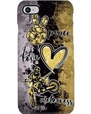 Motocross- Peace -Love- Phone case Phone Case i-phone-7-case