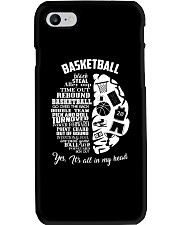 Basketball In My Head Phone Case thumbnail