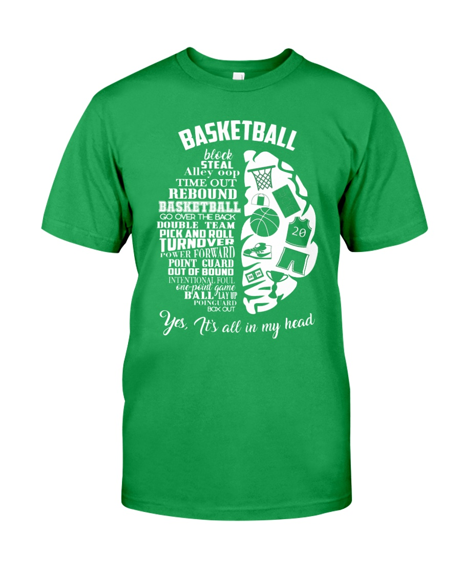 Basketball In My Head Classic T-Shirt
