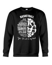 Basketball In My Head Crewneck Sweatshirt thumbnail