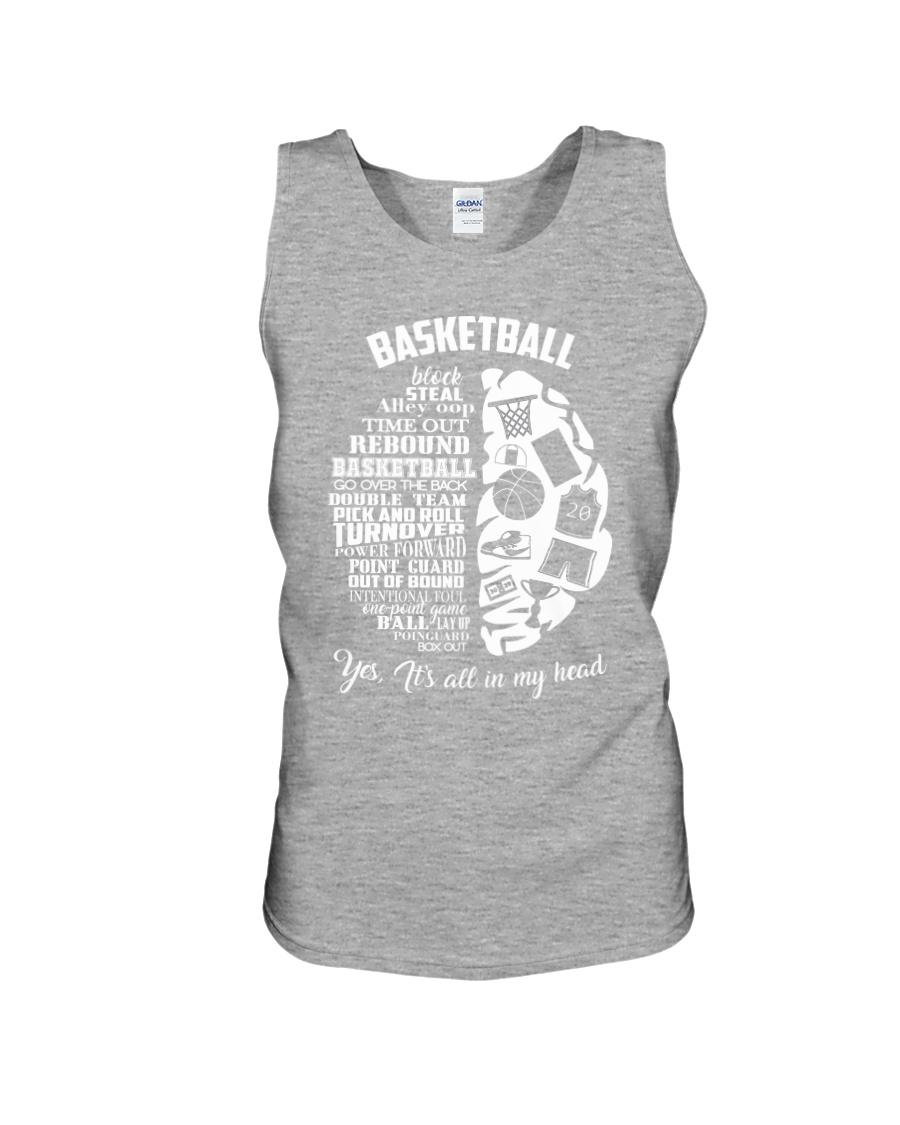 Basketball In My Head Unisex Tank