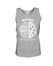 Basketball In My Head Unisex Tank front