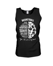 Basketball In My Head Unisex Tank thumbnail
