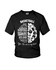 Basketball In My Head Youth T-Shirt thumbnail