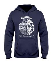 Basketball In My Head Hooded Sweatshirt thumbnail