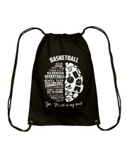Basketball In My Head Drawstring Bag tile
