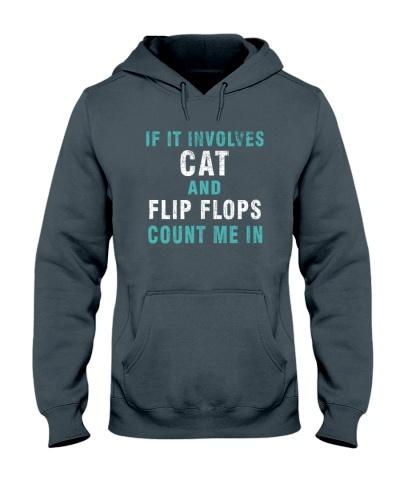 Cats--Flip Flops