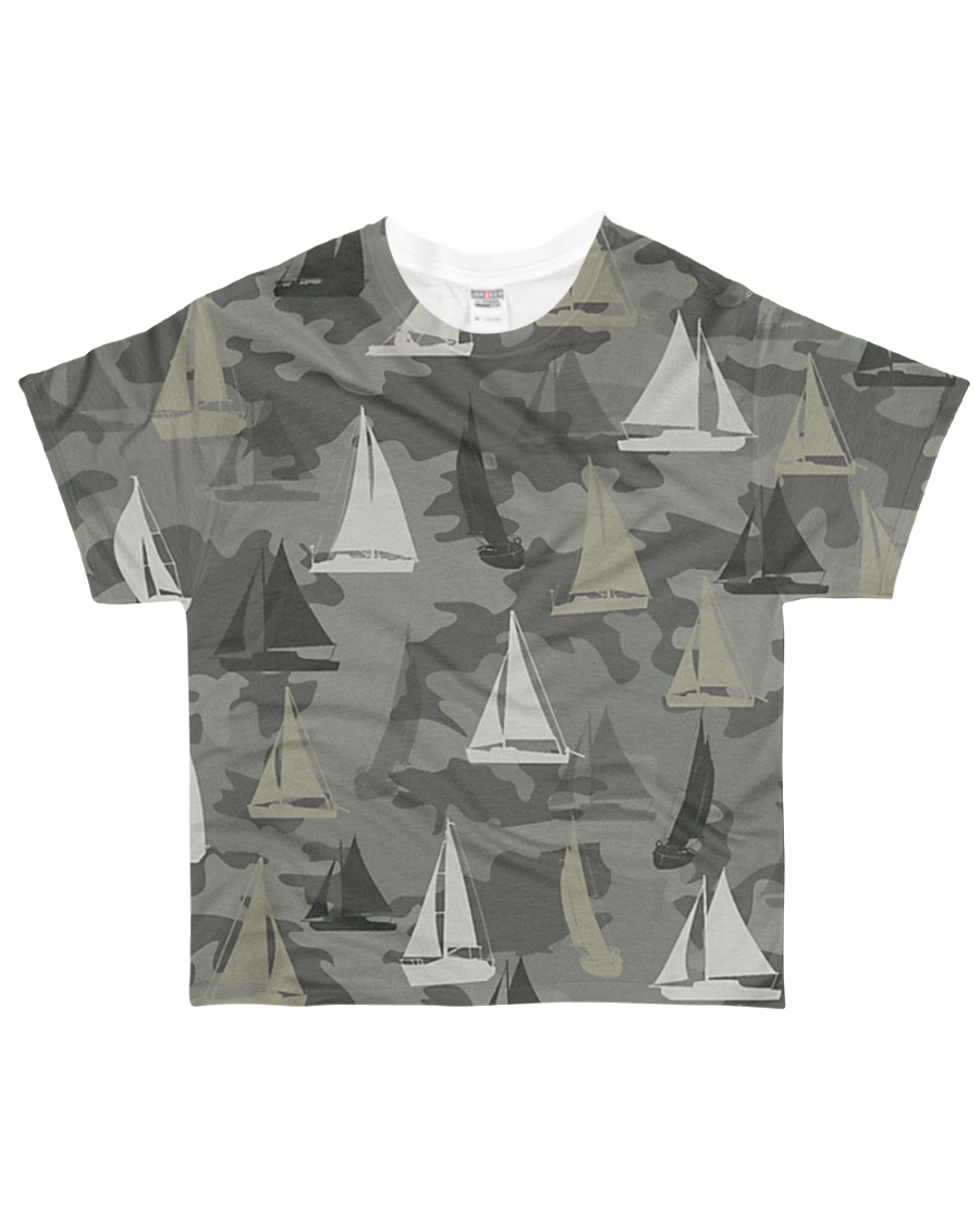 Sailing Camouflage All-over T-Shirt