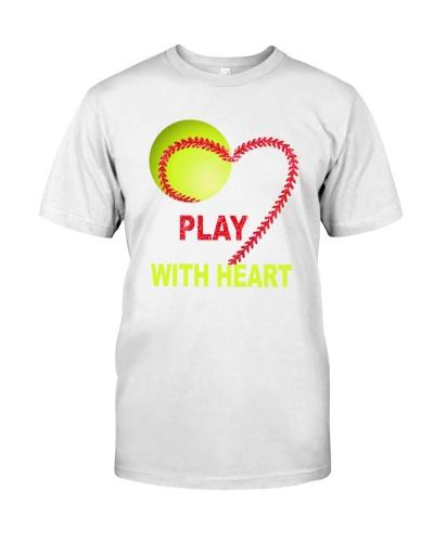 Play softball with heart