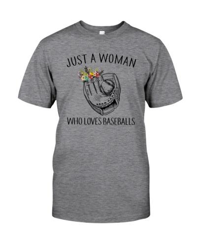 Just A Woman - Who Loves Baseballs