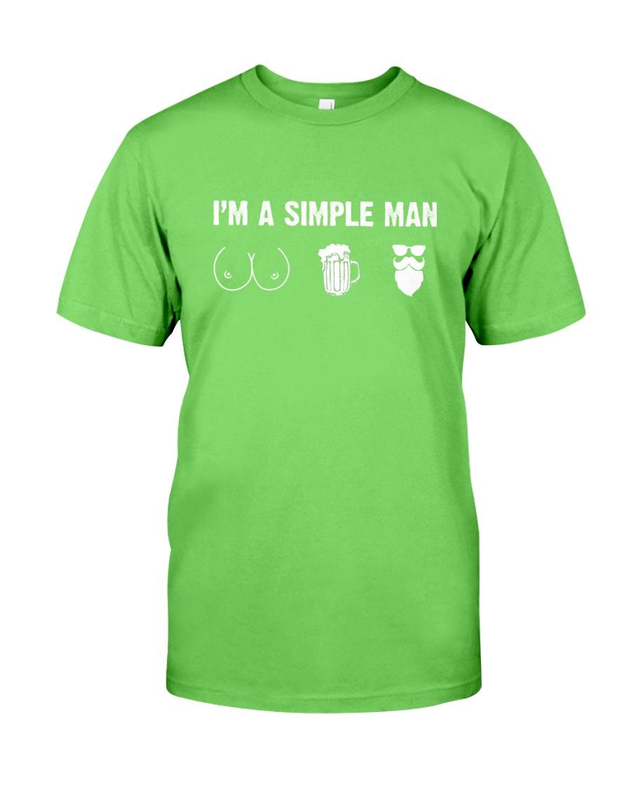 Beard- I'm a simple man Classic T-Shirt