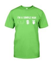 Beard- I'm a simple man Classic T-Shirt front