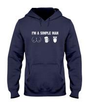 Beard- I'm a simple man Hooded Sweatshirt thumbnail