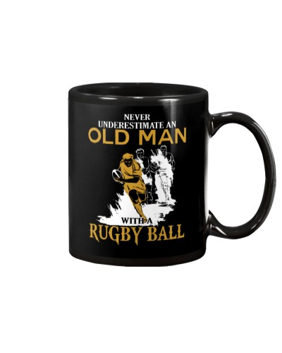 Never Underestimate An Old Man With A Rugby Ball