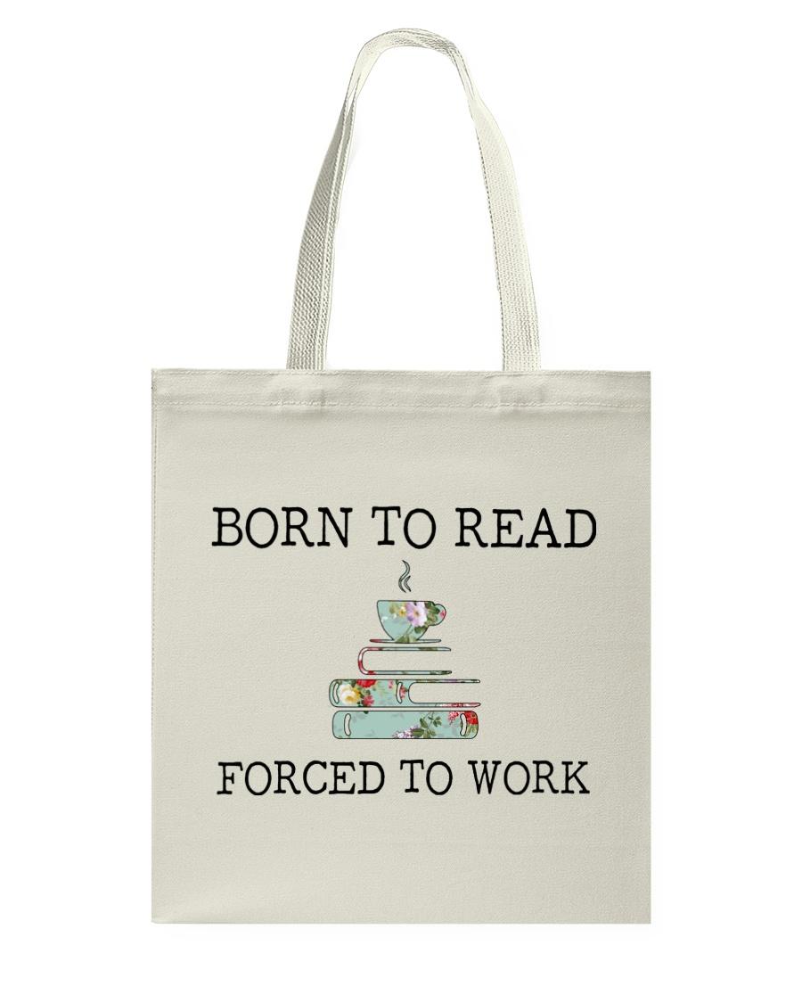 Books Born To Read Tote Bag