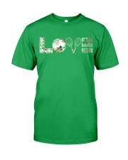 Tennis Love Flower Classic T-Shirt thumbnail