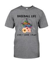 Baseball Life Live Love Play Classic T-Shirt thumbnail