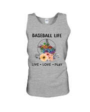 Baseball Life Live Love Play Unisex Tank thumbnail