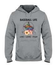 Baseball Life Live Love Play Hooded Sweatshirt thumbnail