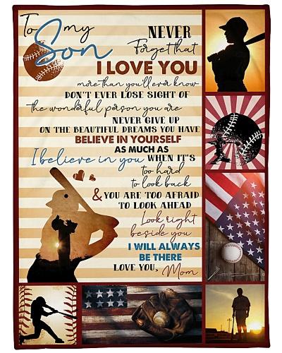Baseball Funny I Love You Son Graphic Design
