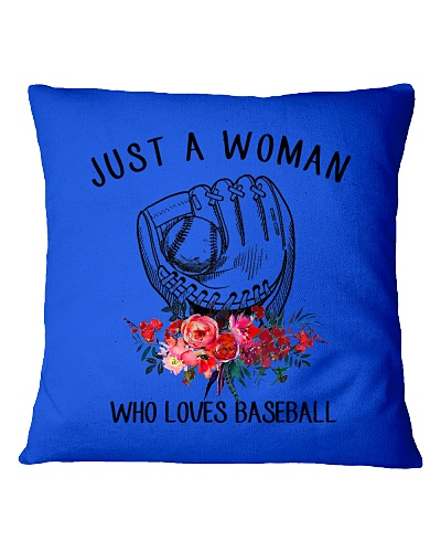 A Woman Loves Baseballs