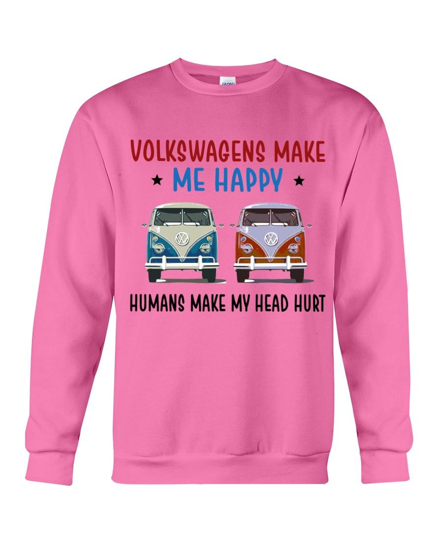 VWGs Make Me Happy Crewneck Sweatshirt