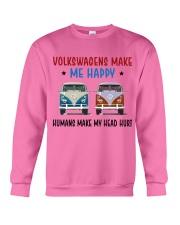 VWGs Make Me Happy Crewneck Sweatshirt thumbnail