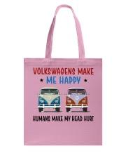 VWGs Make Me Happy Tote Bag thumbnail