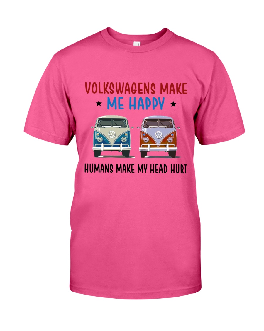 VWGs Make Me Happy Classic T-Shirt