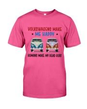 VWGs Make Me Happy Classic T-Shirt front