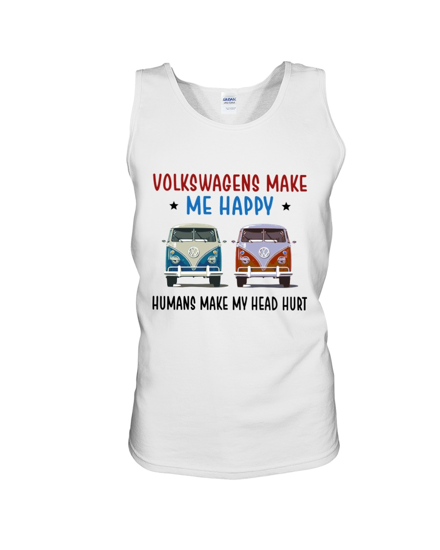 VWGs Make Me Happy Unisex Tank