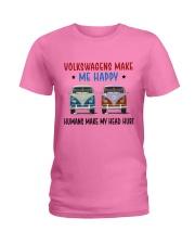 VWGs Make Me Happy Ladies T-Shirt thumbnail