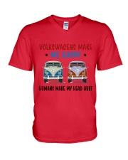 VWGs Make Me Happy V-Neck T-Shirt thumbnail