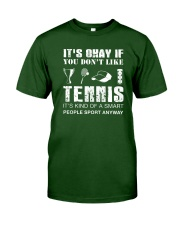Tennis Sport Anyway Classic T-Shirt front