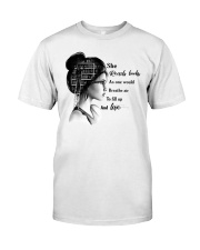 She Read Books Classic T-Shirt front