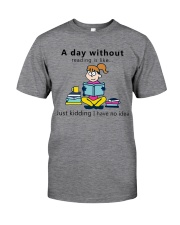Day Without Books Classic T-Shirt thumbnail