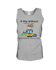 Day Without Books Unisex Tank thumbnail