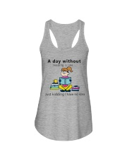 Day Without Books Ladies Flowy Tank thumbnail
