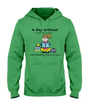 Day Without Books Hooded Sweatshirt tile