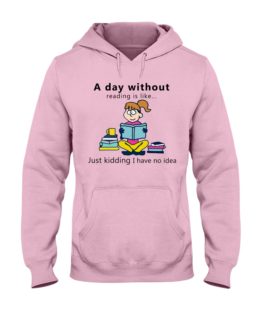 Day Without Books Hooded Sweatshirt