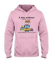 Day Without Books Hooded Sweatshirt front