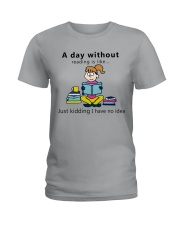 Day Without Books Ladies T-Shirt thumbnail