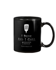 Cooking- I drink and i grill Mug thumbnail
