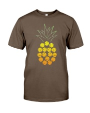 Tennis Pineapple Classic T-Shirt front